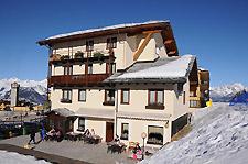 Hotel della Nouva en hiver